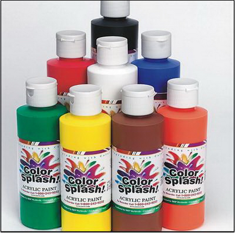 (Price/per set)8-oz. Color Splash! Acrylic Paint