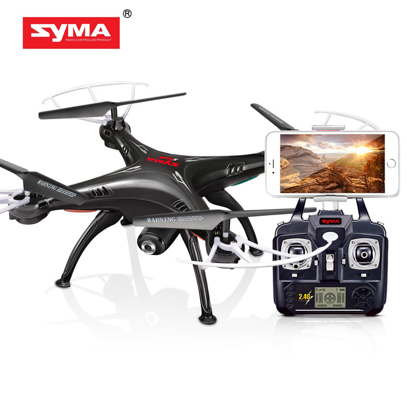 Syma X5SW 4CH 2.4G 6-axis Gyro RC Wifi FPV Quadcopter Drone with 0.3MP Camera by