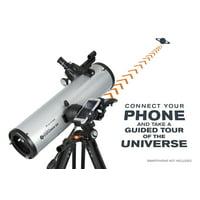Celestron StarSense Explorer DX 130AZ Smartphone App-Enabled Newtonian Reflector Telescope