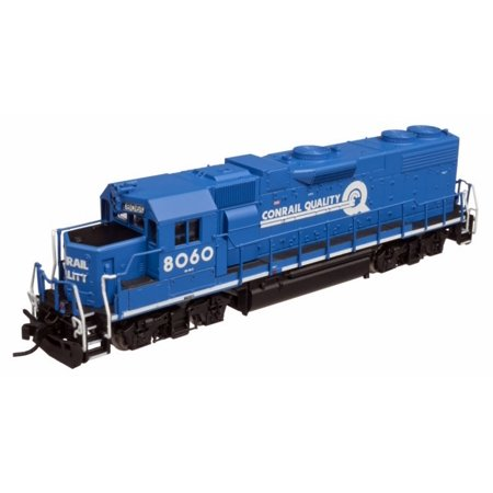 Atlas 40002289 N Conrail GP38-2 Diesel Locomotive w/DCC #8060