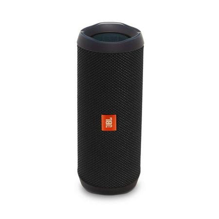 JBL Flip 4 Waterproof Bluetooth Speaker -Black (Certified Refurbished)