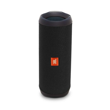 JBL Flip 4 Waterproof Bluetooth Speaker -Black (Certified