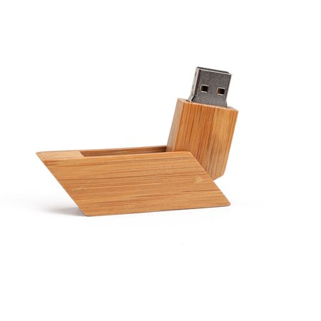 Creative Wooden Flash Drive Portable Rotary USB Pen Drive Memory Stick - image 1 of 8