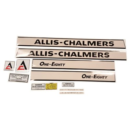 DECAL SET For Allis Chalmers 180; 180 W/2800 ENG