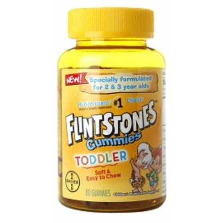 Flintstones Toddler Multivitamin Gummies 80 ea](Flintstones Adults)
