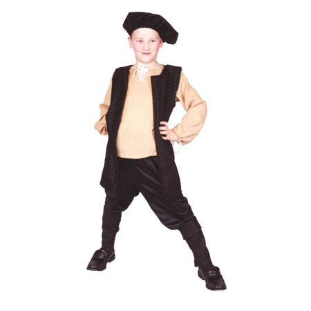 Renaissance Boy Vest Costume - Renaissance Costume For Boys