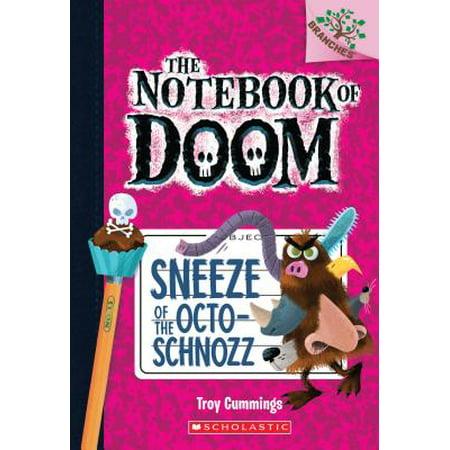 Sneeze of the Octo-Schnozz - Halloween Sneeze