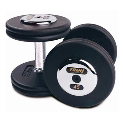 USA Sports Troy Barbell Fixed Pro-Style Dumbbells