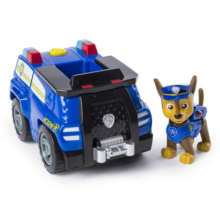 Police Ambulance (PAW Patrol – Chase's Transforming Police Cruiser with Flip-open Megaphone, for Ages 3 and Up)
