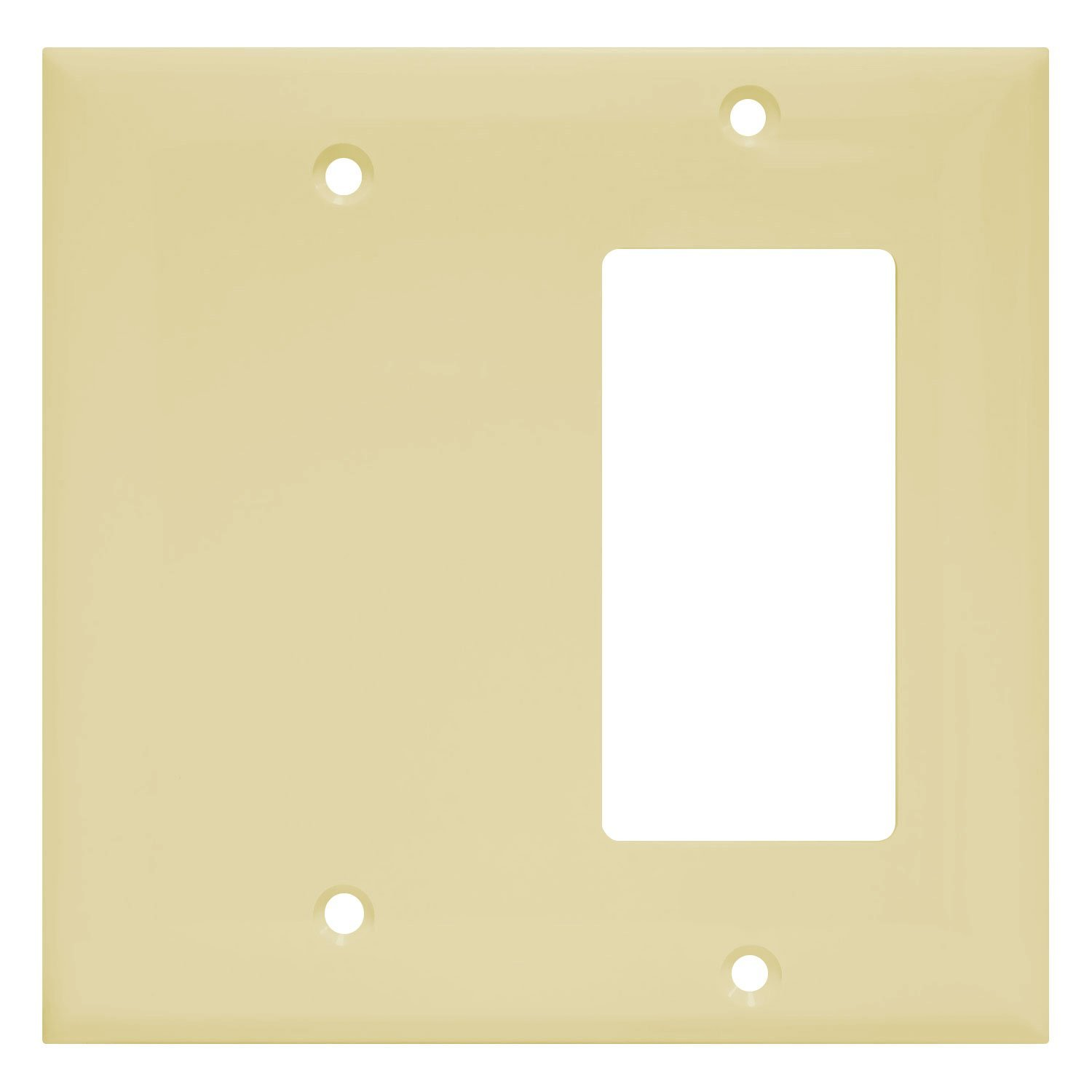 Enerlites 880131 I Decorator/Blank Switch Wall Plate Combination By Home  Decorator Outlet Cover