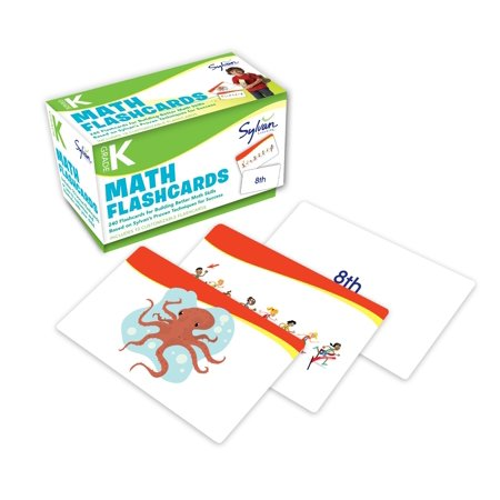 Kindergarten Math Flashcards : 240 Flashcards for Building Better Math Skills Based on Sylvan's Proven Techniques for - Halloween For Kindergarten Online