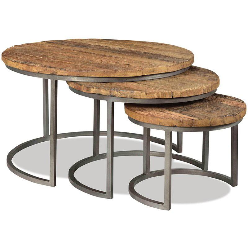 Riverside Furniture Tania 3 Piece Nesting Coffee Table Set ...