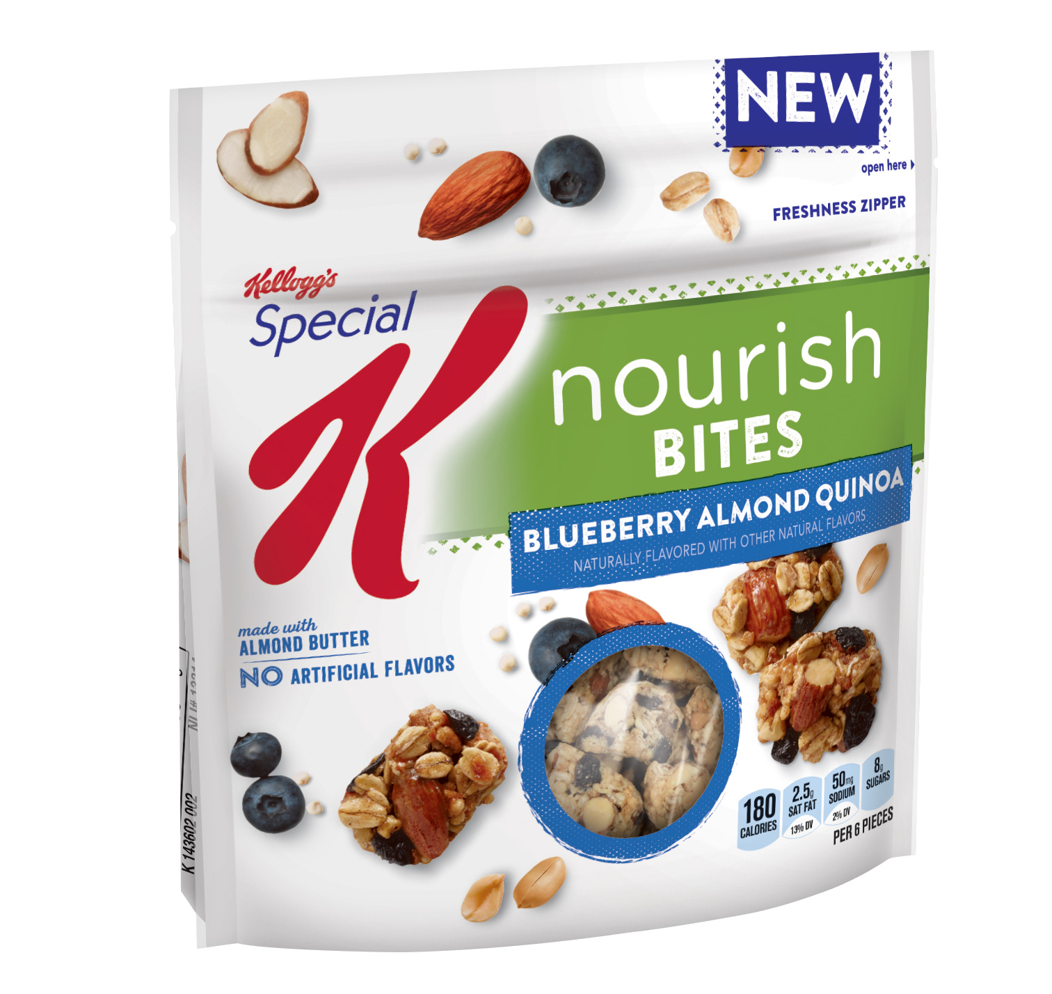 Special K Nourish Bites Blueberry Almond Quinoa, 5.5 OZ