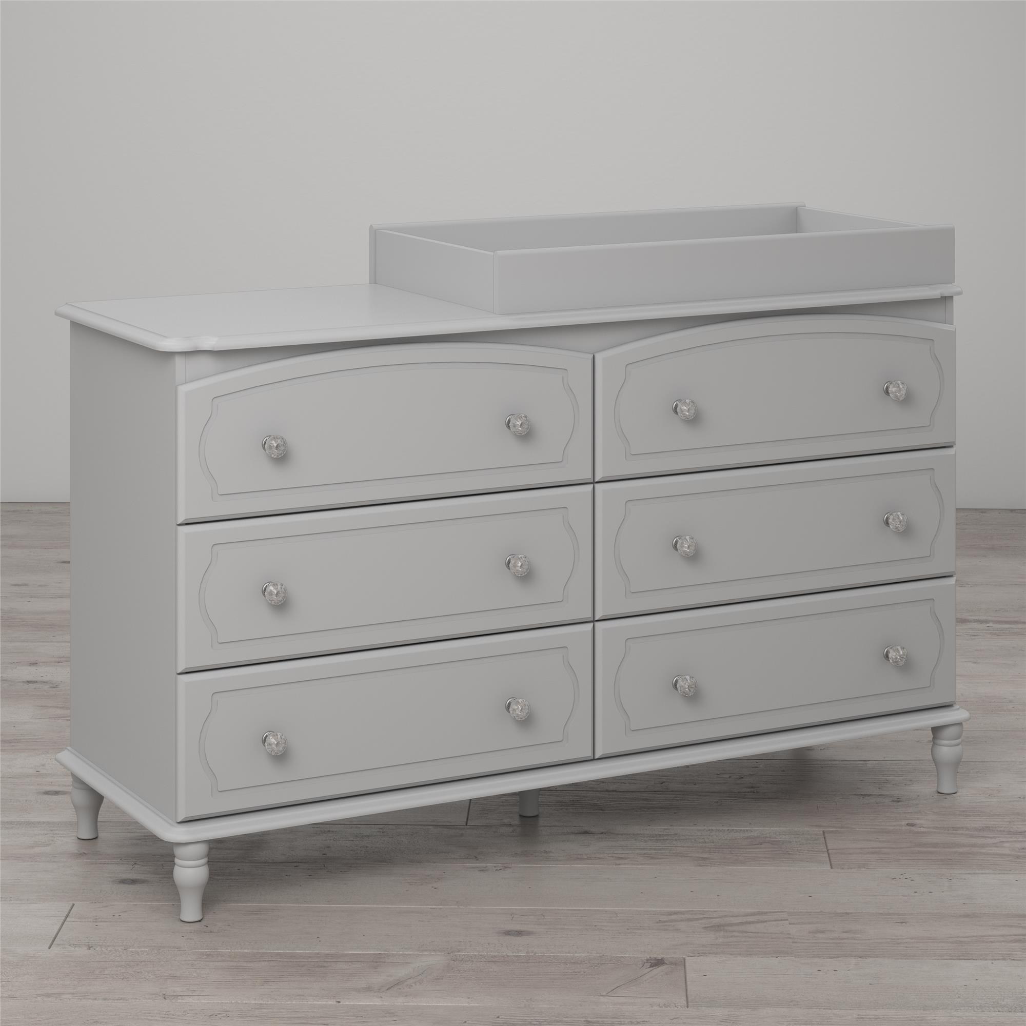 Little Seeds Rowan Valley Laren 6-Drawer Changing Table, Gray by Little Seeds