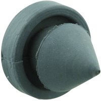 """Prime-Line MP4566 Door Stop Silencer, 1/2"""" Outside Diameter, Solid Rubber Construction, Gray in Color, 100pk"""