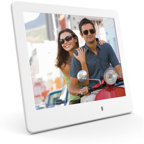 "ViewSonic VFD820 8"" LED Digital Frame, White"