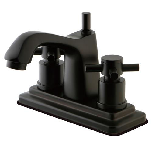 Elements of Design Concord Double Handle Deck Mount Bathroom Faucet