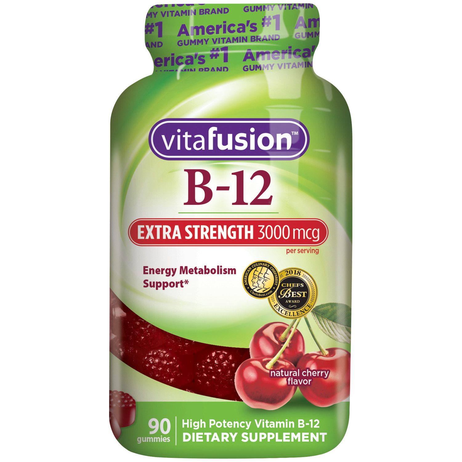 Vitafusion Extra Strength Vitamin B12 Dietary Supplement Gummies