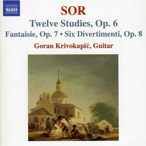 Twelve Studies Op. 6 / Fantaisie Op. 7
