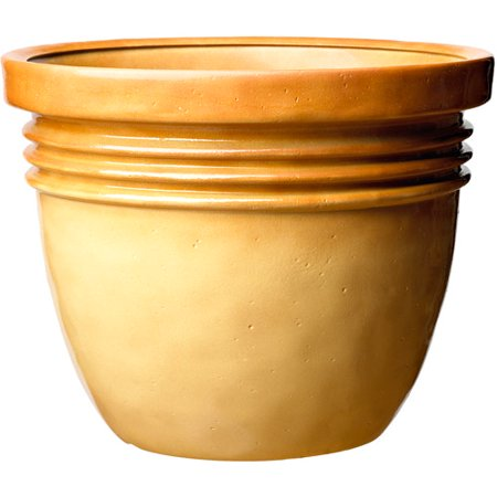 Image of Better Homes and Gardens Bombay Decorative Planter, Tan Almond, Multiple Sizes