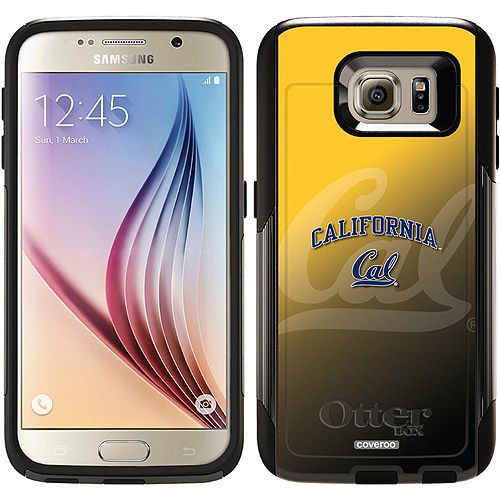 UC Berkeley Cal Watermark Yellow Design on OtterBox Commuter Series Case for Samsung Galaxy S6