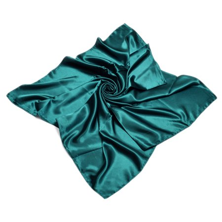 Burberry Silk Scarf - TrendsBlue Elegant Large Silk Feel Solid Color Satin Square Scarf Wrap 36 Inch