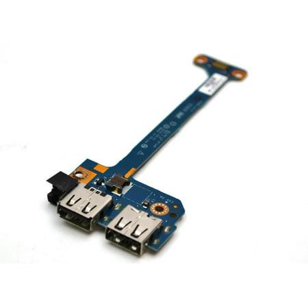 LS-8714P LS8714P HP PAVILION M6 SERIES ORIGINAL DUAL USB PORT BOARD LS-8714P LS8714P USA USB CARDS - Used Like New