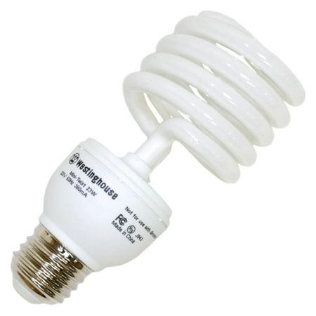 Westinghouse 37960 - 23MINITWIST/65 Compact Fluorescent Daylight Full Spectrum Light Bulb
