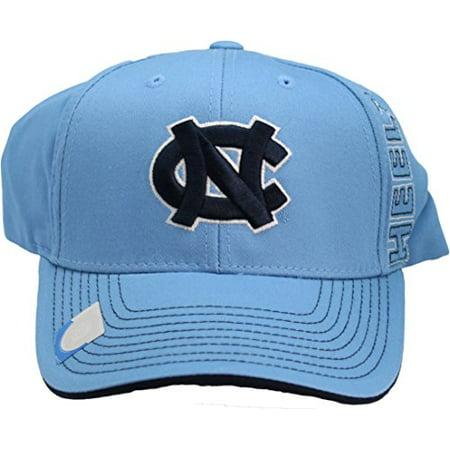 NCAA North Carolina Tar Heels One-Fit Adjustable Velcro Hat Blue (Tar Heel Blue)