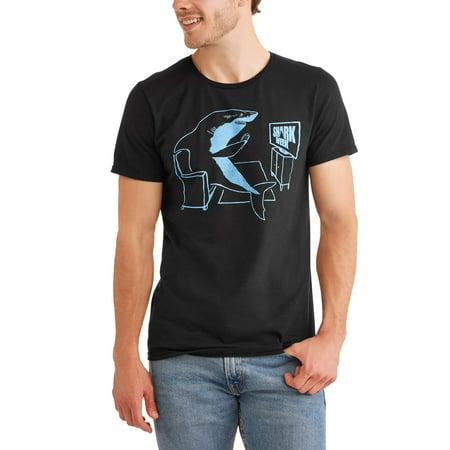 Shark Week Men's Shark Potato Short Sleeve Graphic T-Shirt, up to Size 3XL