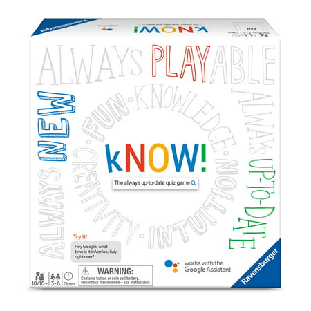 10 Halloween Games (kNOW! Family Board Game, The Always Up-to-Date Quiz Game, 3-6 Players, Ages)