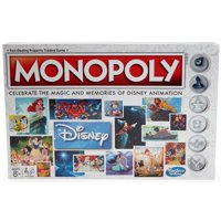 Monopoly: Disney Animation Edition, for 2-6 Players