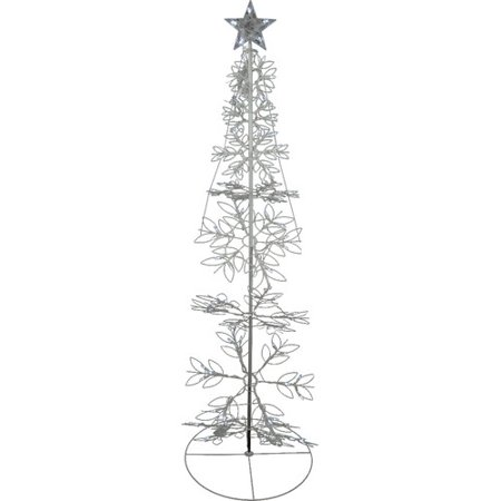 northlight seasonal led lighted outdoor meteor effect snowflake hoop christmas tree yard art decoration