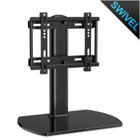 Out of stock please do not make order.FITUEYES Universal Swivel Tabletop TV Stand base with mount for 27 to 37 inch Samsung LG Vizio Tv TT104001GB)