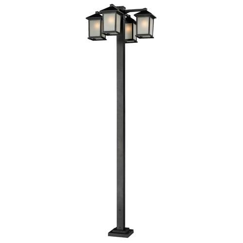 Z-Lite Holbrook Outdoor 4-Light 99'' Post Light