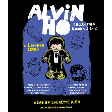 Alvin Ho Collection: Books 3 and 4 : Allergic to Birthday Parties, Science Projects, and Other Man-made Catastrophes and Allergic to Dead Bodies, Funerals, and Other Fatal Circumstances - Alvin And The Chipmunks Birthday Party Supplies