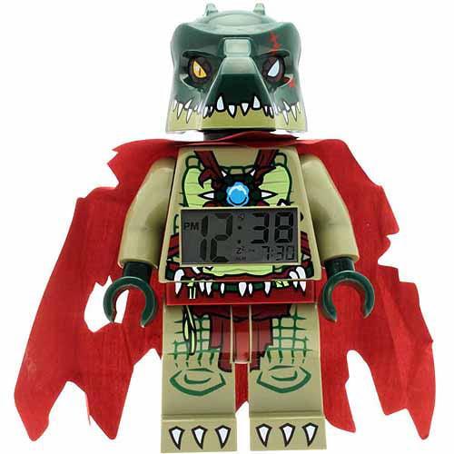 LEGO Legends of Chima Cragger Minifigure Clock