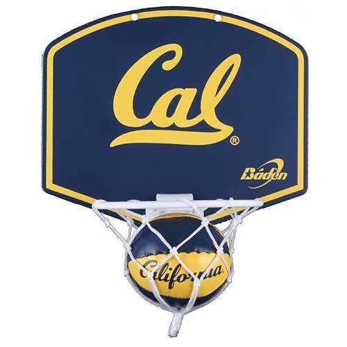 California Golden Bears Mini Basketball And Hoop Set