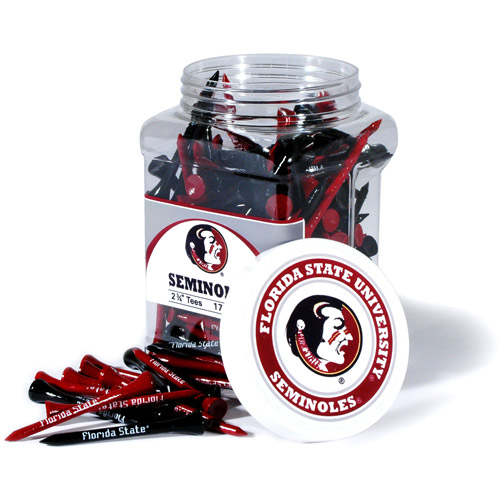 Team Golf NCAA Florida State Jar Of 175 Golf Tees