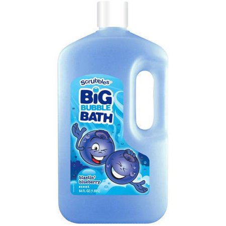 - (2 Pack) Equate Very Blue Berry Kids Bubble Bath, 64 Oz