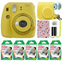 Fujifilm Instax Mini 9 Fuji Instant Camera Ice Blue + 50 Film Sheets Classy Kit