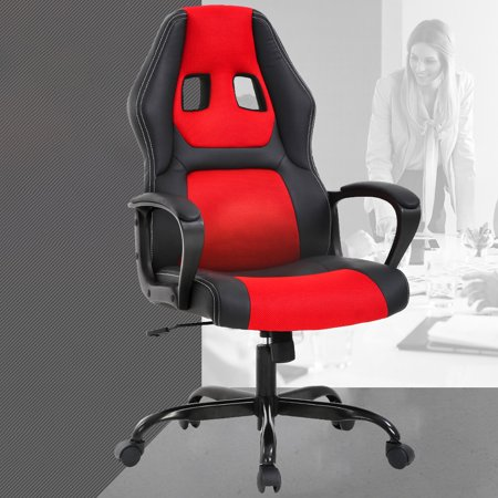Bar Furniture Executive Swivel Chairs Home Office Computer Desk Chairs Task Chair Leather Pu