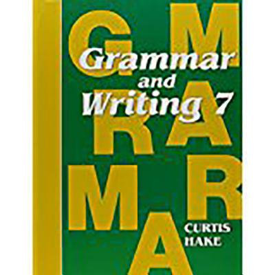 Saxon Grammar and Writing Grade 7 Complete Homeschool Kit