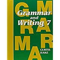Saxon Grammar and Writing Grade 7 Complete Homeschool Kit