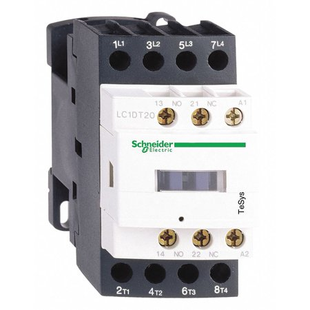 Schneider Electric IEC Magnetic Contactor, 120V Coil, 12A   LC1D128G7