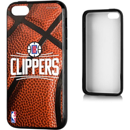 Los Angeles Clippers Basketball Design Apple iPhone 5C Bumper Case by Keyscaper by