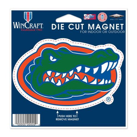 Florida Gators Official NCAA 4.5 inch x 6 inch Die Cut Car M