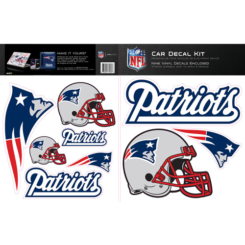 Skinit new england patriots car decal kit