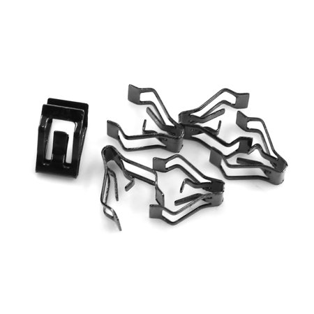 Car Dashboard Retainer Console Instrument Panel Metal Clips 16.5 x 13.5mm 6pcs - image 3 of 3