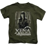 Xena Warrior Princess Honored Little Boys Shirt